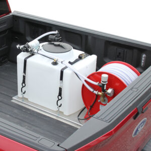25 Gallon Skid Plate Sprayer - 1.8 GPM, 100 PSI