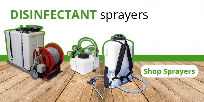 disinfectant sprayers